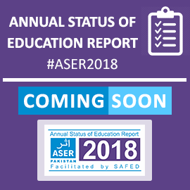 Welcome To Aser Pakistan Education In Pakistan Annual Status Of